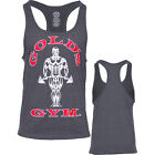 Bodybuilding Tank Top Muskelshirt dunkelgrau Marke Golds Gym Sport Training
