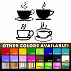 Tea Coffee Cups For Kitchen Wall Shop Sticker Wall Art Window Decor Vinyl Decal