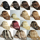 """14""""16""""18""""20""""22""""24""""26""""28""""30"""" Clip In Remy Human Hair Extension 70g 80g 120g"""
