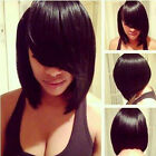 Hot Fashion Wig New Style Women's Short Straight Black Brown Bob Hair Party Wigs
