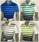 Fall 2016 Nike Mobility Fade Stripe Golf Polo Shirt $80 (435,351,100,702)