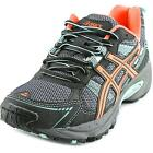 Asics Gel-Venture 4 GS Youth  Round Toe Synthetic Black Running Shoe
