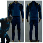 Star Trek Beyond Captain James T Kirk Cosplay Costume Outfit Suit Blue Uniform