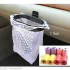 HOT Car Rubbish Bags Trash Hanger Garbage Set Eco-friendly 2Roll 20PCs