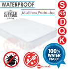 Waterproof Fitted Mattress Protector Cover Underlay Water Proof Bed Sizes Fully