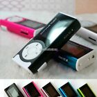 1-8GB Support Micro SD TF Mini Clip Metal USB MP3 Music Player With Flashlight N