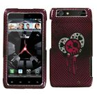 I Heart Rock Sparkle Phone Protector Cover Case for Motorola XT912 Droid Razr