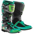 Gaerne SG-12 2016 MX/Offroad Boots Gray/Turquoise Lime Green