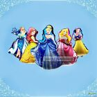 50pcs Colorful Princess's Helium Foil Party Balloon Birthday Decorative Supplies