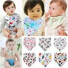 Baby Boy Girl Kids Bibs Waterproof Saliva Towel Cartoon Bib Feeding Bandana S0BZ