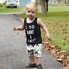 Newborn Baby Boys Black T-shirt  Tops+White Cross Print Pants 2pcs Outfits Set