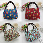 Thermal Insulated Tote Lunch Cool Bag Picnic Cooler Box Handbag Storage Pouch