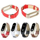 Genuine Leather Watch Band Wrist Strap with Buckle For Xiaomi Mi Band Miband 2