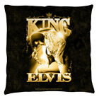 Elvis Presley The King Decorative Throw Pillow Bed Couch