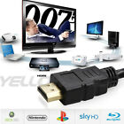 1.5ft-66ft 1080P FULL HD PREMIUM HDMI V1.4 CABLE For BLURAY 3D DVD PS4 HDTV XBOX