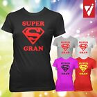 SUPER GRAN T SHIRT T-SHIRT SUPERGRAN Birthday Gift Mothers Day Present