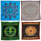 Tapestry Double Psychedelic Bedspread Astrology Floral Bedding Bohemian Throw