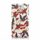 SWALLOW BIRDS PATTERN DESIGN MOBILE PHONE CASE COVER FOR SAMSUNG GALAXY NOTE 3