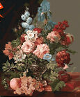 Flowers And Fruit Still Life Needlepoint Canvas 314