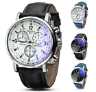 Yazole Mens PRC200 Aviator Military Chrono Quartz Formal Watch Colour Choice