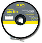 RIO Powerflex Wire Bite Tippet Spools Nylon Coated Sharp Toothed Fly Fishing