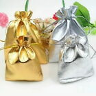 50pcs 9x7cm Organza Wedding Party Favor Candy Bag Jewelry Packing Pouch Gift