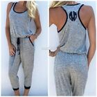 Sexy Women Ladies Summer Clubwear Playsuit Party Jumpsuit&Romper Long Trouser SZ