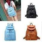 Vintage Women's Backpack Travel Leather Handbag Rucksack Shoulder School Bag