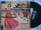 """AL GOODMAN & HIS ORCHESTRA The King and I 7"""" 45 Sound Clip in Listing"""