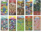 KIDSCRAFT Stickers - Range of Puffy, Resin & Foam Stickers (Craft/Cards/Art)