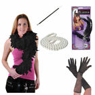 Ladies 1920'S Flapper Theme Gatsby Ladies Fancy Dress Accessories Charleston