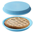 """9.6"""" Silicone Kitchen Round Bread Cake Chocolate Pizza Pia Mold Baking Pan Mould"""