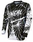 O'Neal Element Enigma 2016 Mens MX/Offroad Jersey Black/White