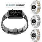 Claasic Butterfly Loop 316L Stainless Steel Strap Link Watchband For Apple Watch
