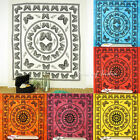 LARGE SELECTION - INDIAN BUTTERFLY MANDALA TAPESTRY BEDSPREAD Beach Dorm Decor