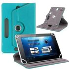 Leather Folio Android Tablet Case Cover 360° For Universal PC 7* 8* 9* 10* 10.1*