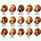 ATTACK ON TITAN Button (Select Choice)