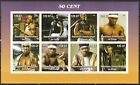 "Congo 2005 Cinema "" 50 Cent "" Sheet imperf. MNH** Privat !"