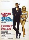 Home Wall Print - Vintage Movie Poster - DR NO 2 - JAMES BOND - A4,A3,A2,A1 £19.99 GBP on eBay