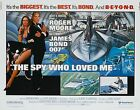 Home Wall Print - Movie Film Poster - THE SPY WHO LOVED ME BOND 007 -A4,A3,A2,A1 £19.99 GBP on eBay