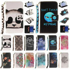New Leather Smart Patter Wallet & Hand Rope Case Covers for Samsung Galaxy G360