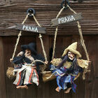 Halloween Witch Retro Ornaments Whole Person Props Tricky Decorative Props Bar K