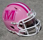 BREAST CANCER AWARENESS SPECIAL PINK SPEED MINI FOOTBALL HELMET LIMITED SUPPLY