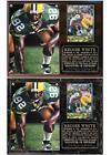 Reggie White #92 Green Bay NFL Photo Card Plaque Packers Hall of Fame Super Bowl on eBay