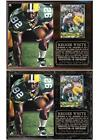 Reggie White #92 Green Bay NFL Photo Card Plaque Packers Hall of Fame Super Bowl $25.15 USD on eBay