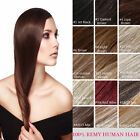 """Tengda Clip in 100% Remy Human Hair Extensions 24"""" 26"""" 28"""" 30"""" 120g 11 Colors"""
