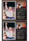 Bill Parcells 2013 Pro Football Hall of Fame New York Giants Photo Plaque $26.95 USD