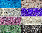700g / 900 Glass Chippings Choose Colour Pebbles Stones Vase Fish Garden Plants