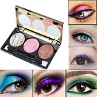 3 Colors Makeup Durable Eyeshadow Baked Shimmer Eye New Shadow Palette