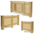 Radiator Cover Cabinet MDF Wood Unfinished in Diamond, Slats or Circle Grills NI
